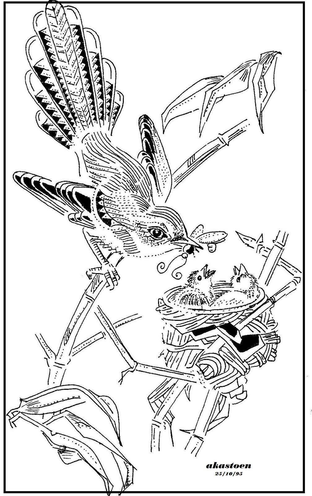 Gambar Kartun Burung Pipit | Pernik Wallpaper