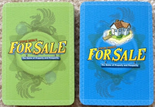 different decks from For Sale game