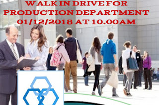 Hy-Gro chemical- walk in interview on 1 December