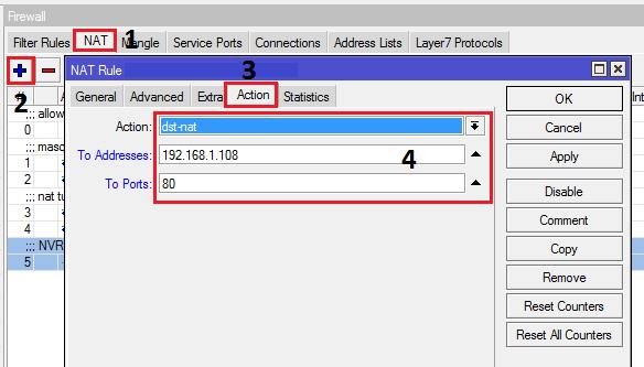 Cara Setting Remote CCTV di Mikrotik