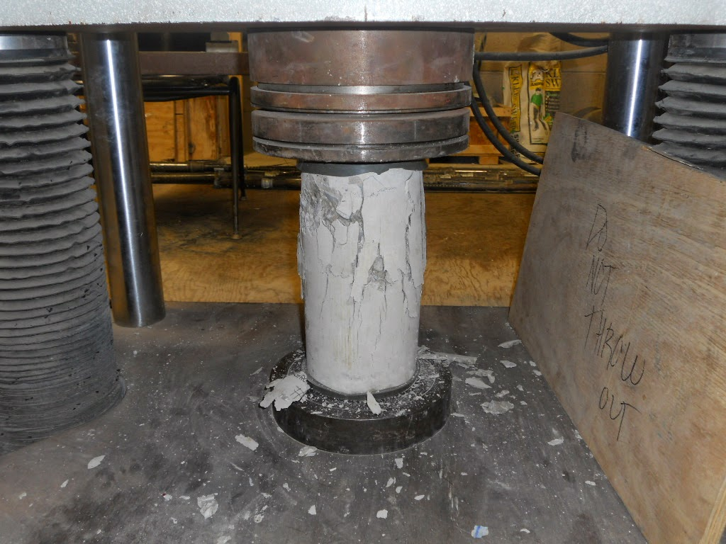 Research Project: The Effect of Test Cylinder Size on the Compressive Strength of Sulfur Capped Concrete Specimens