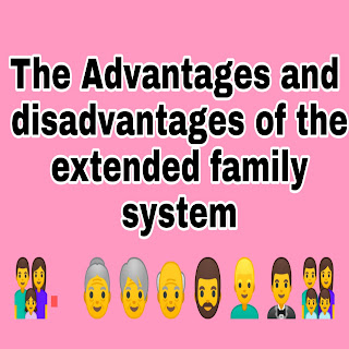 disadvantages of extended family system