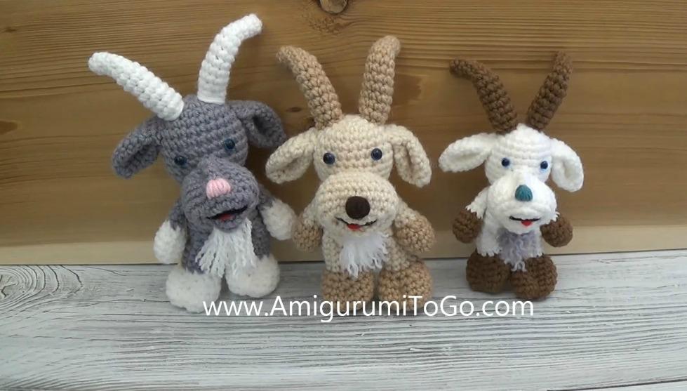 Amigurumi To Go!: Little Bigfoot Piggy Crochet Pattern (easy ... | 557x979