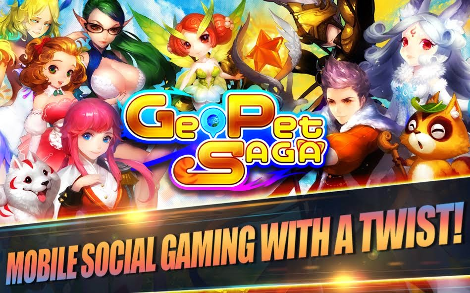 Great role play mobile games - Geo Pet Saga