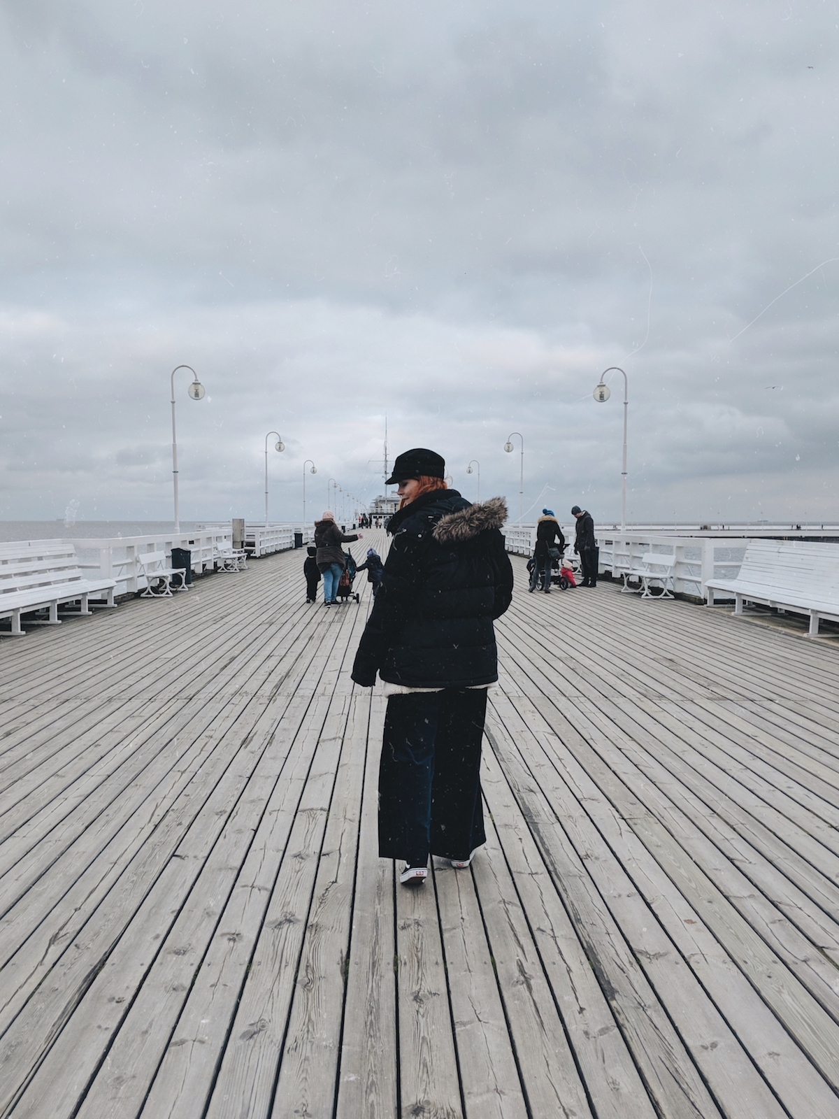 Walking the Sopot Pier