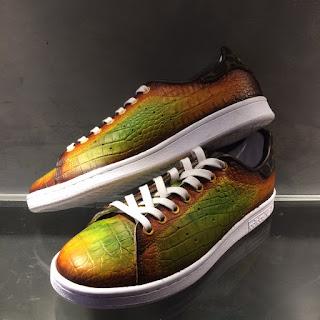 paulus bolten, paulus bolten patine, paulus bolten patine paris, custom patina service, shoe patina, sneaker patina, kicks, adidas, patina service