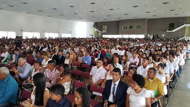 CORREGEDORIA GERAL DA JUSTIÇA REALIZOU NESTE SÁBADO GRANDE CASAMENTO COMUNITÁRIO