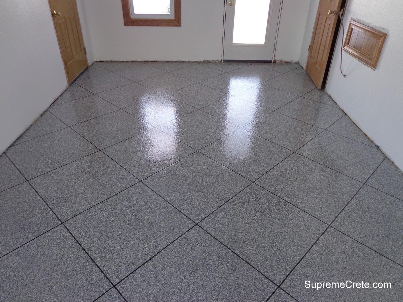 Decorative Concrete Contractors: Epoxy Granite Tile