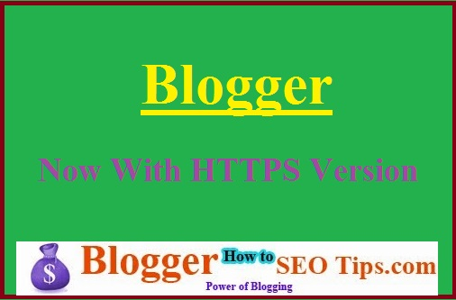 BlogSpot HTTPS Version