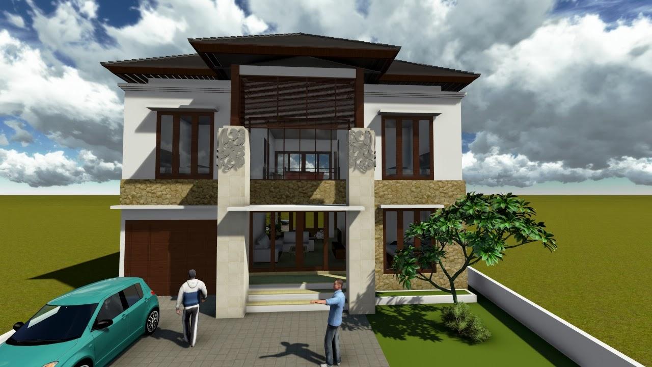 Contoh Desain Rumah Minimalis 2 Lantai Terbaru 2014 Desain