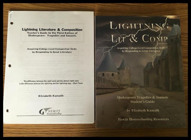 Review: Shakespeare Tragedies - Hewitt Homeschooling - Lightning Literature