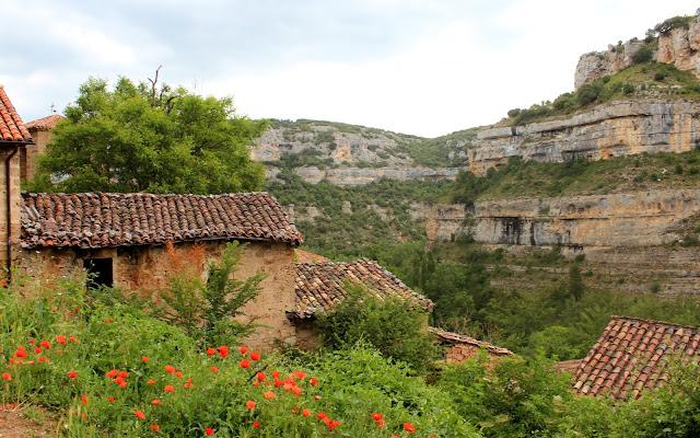 Cañón del río Ebro en Orbaneja del Castillo
