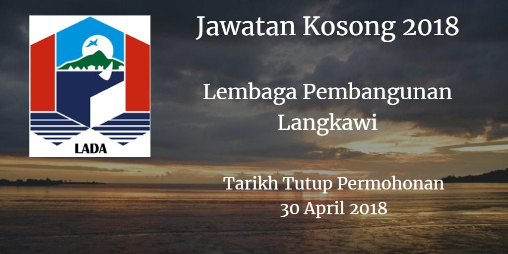 Jawatan Kosong LADA 30 April 2018