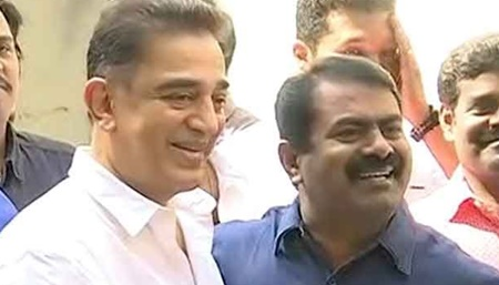 It's not right thing that Kamal come to meet me; So I decided to come & meet him, says Seeman