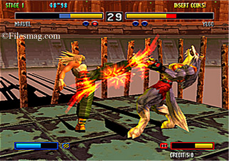 Bloody roar 2 pc game screenshot