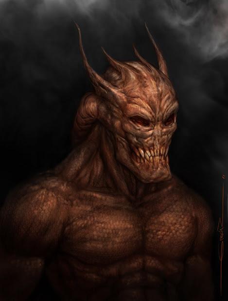 Demon Concept Art