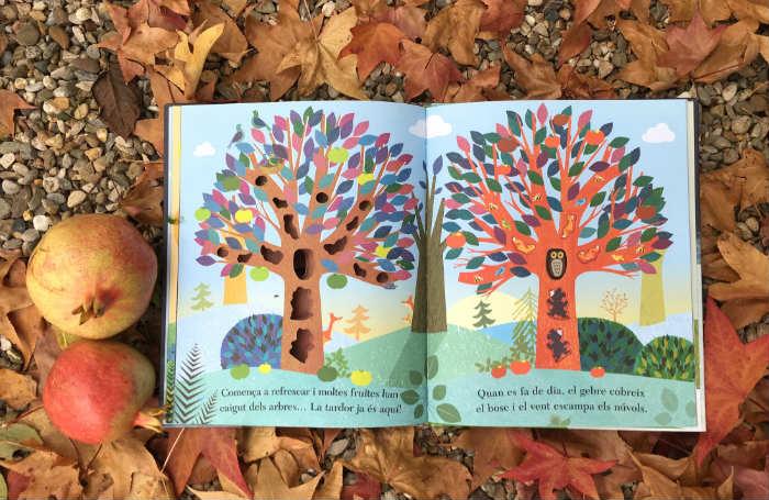 Cuentos libros infantiles las cuatro estaciones desde el gran arbol britta teckentrup