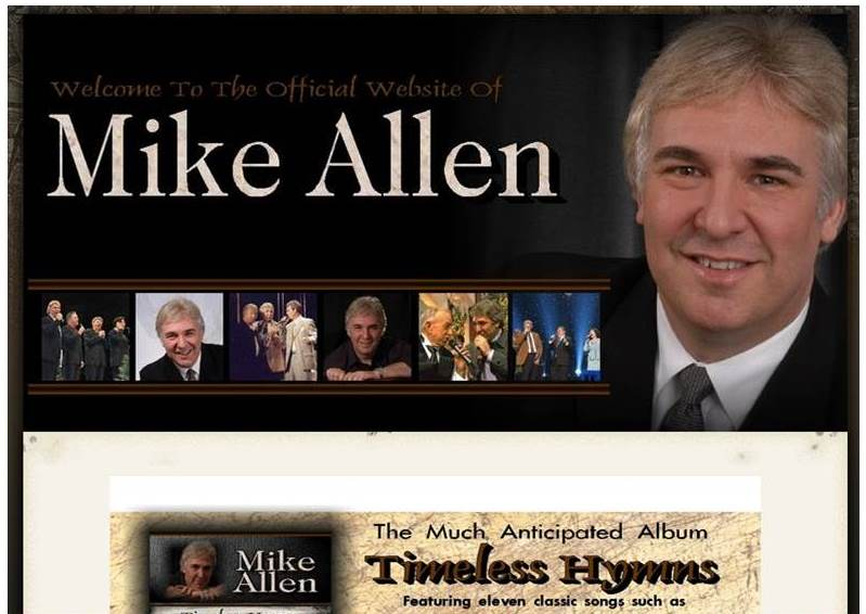 Mike Allen Music (Website)