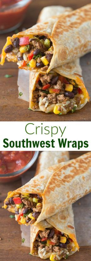 Críspy Southwest Wrap