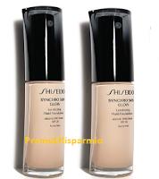 Logo Richiedi gratis il campione omaggio Fondotinta Shiseido Synchro Skin Glow Foundation