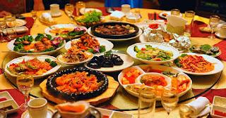 gambaran makanan di seurga
