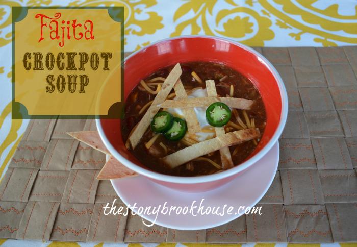 Fajita Crockpot Soup