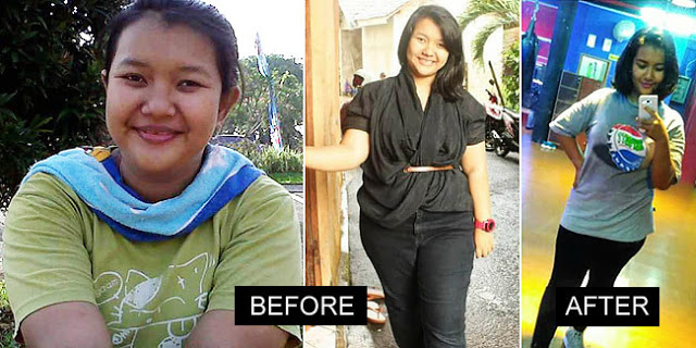 Wow! Gadis ini Sukses Pangkas 19Kg Berat Badannya dengan Cara Alami! Berikut Kisahnya Semoga bisa menjadi Motivasi bagi yang Ingin Diet!