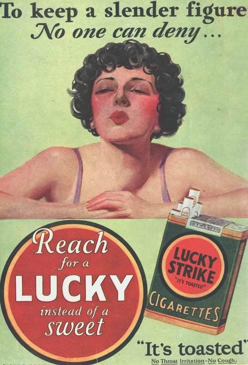 iklan rokok baik untuk melangsingkan badan