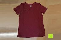 Erfahrungsbericht: Lands' End - Baumwoll/Viskose-Shirt mit V-Ausschnitt