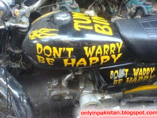 Funny Pakistani motorcycle  Pictures
