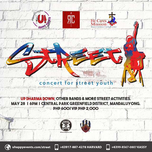 Up Dharma Down Fund Raising Concert for Street Youth on May 28
