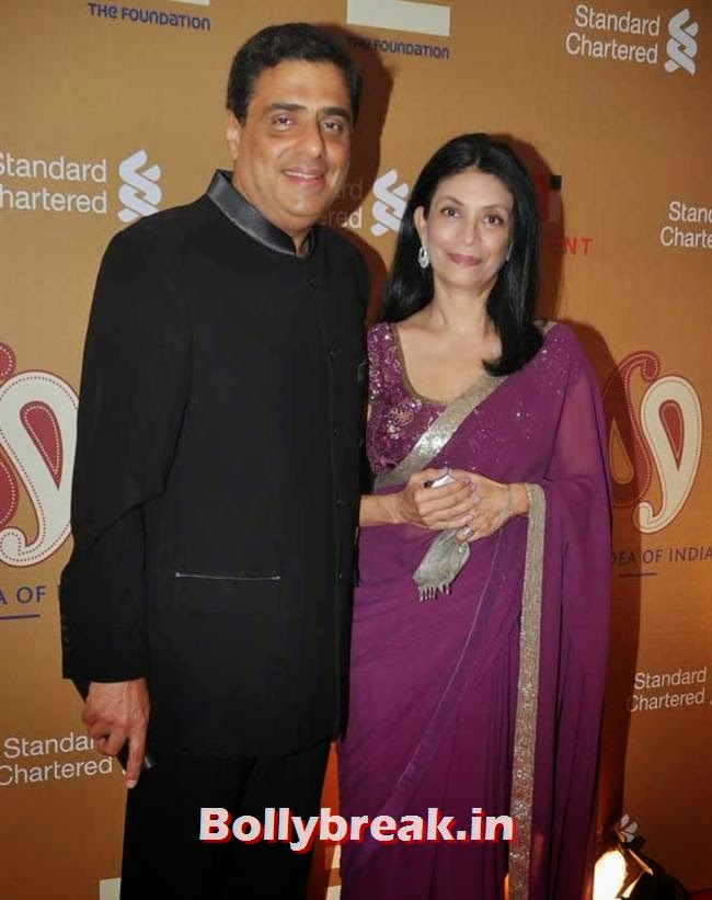 Ronnie Screwvala and Zarine Mehta, The Idea of India Auction Pics