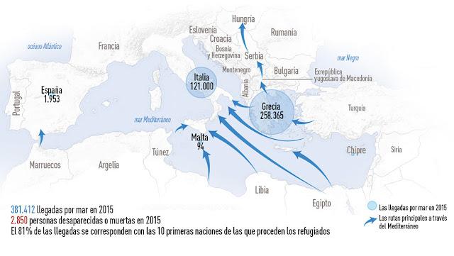 La inteligencia alemana sabe que entre los refugiados hay terroristas del EI