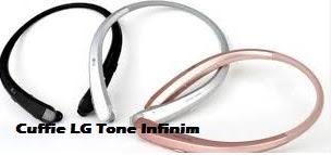 Cuffie LG Tone Infinim - Novità Fuori Salone 2016 da LG