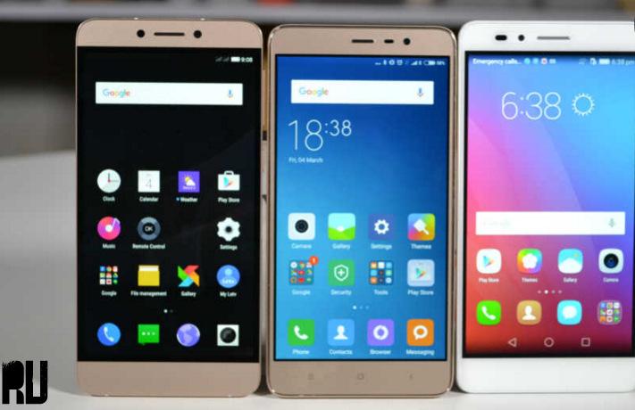 Xiaomi Redmi Note3 vs LeECo Letv Le 2S vs Micromax canvas ...