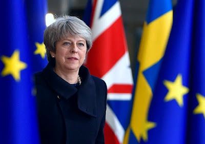 Theresa May sur le Brexit
