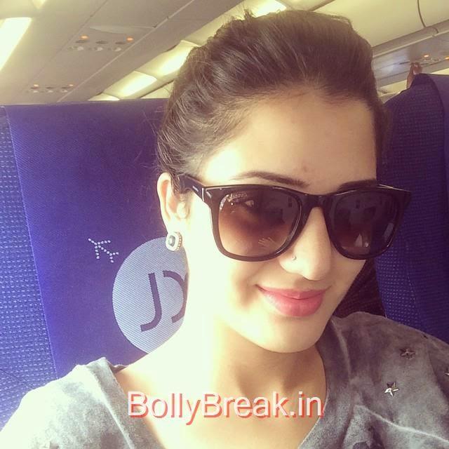 isha ri kh i , off to chd ✈️💃😝, Hot HD Images of Actress Isha Rikhi With Family and Friends