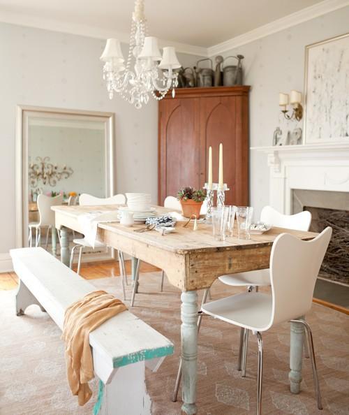 10 Rustic Dining Room Ideas: Elegant Abode: Rustic Dining Rooms