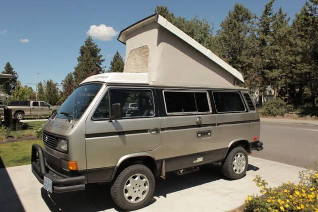 Daily Turismo: NSync Syncro: 1987 Volkswagen Type 2 Westfalia Syncro