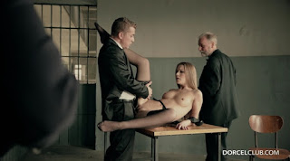 DorcelClub Alexis Crystal And Anna Polina Prisoner Offered To An Old Man
