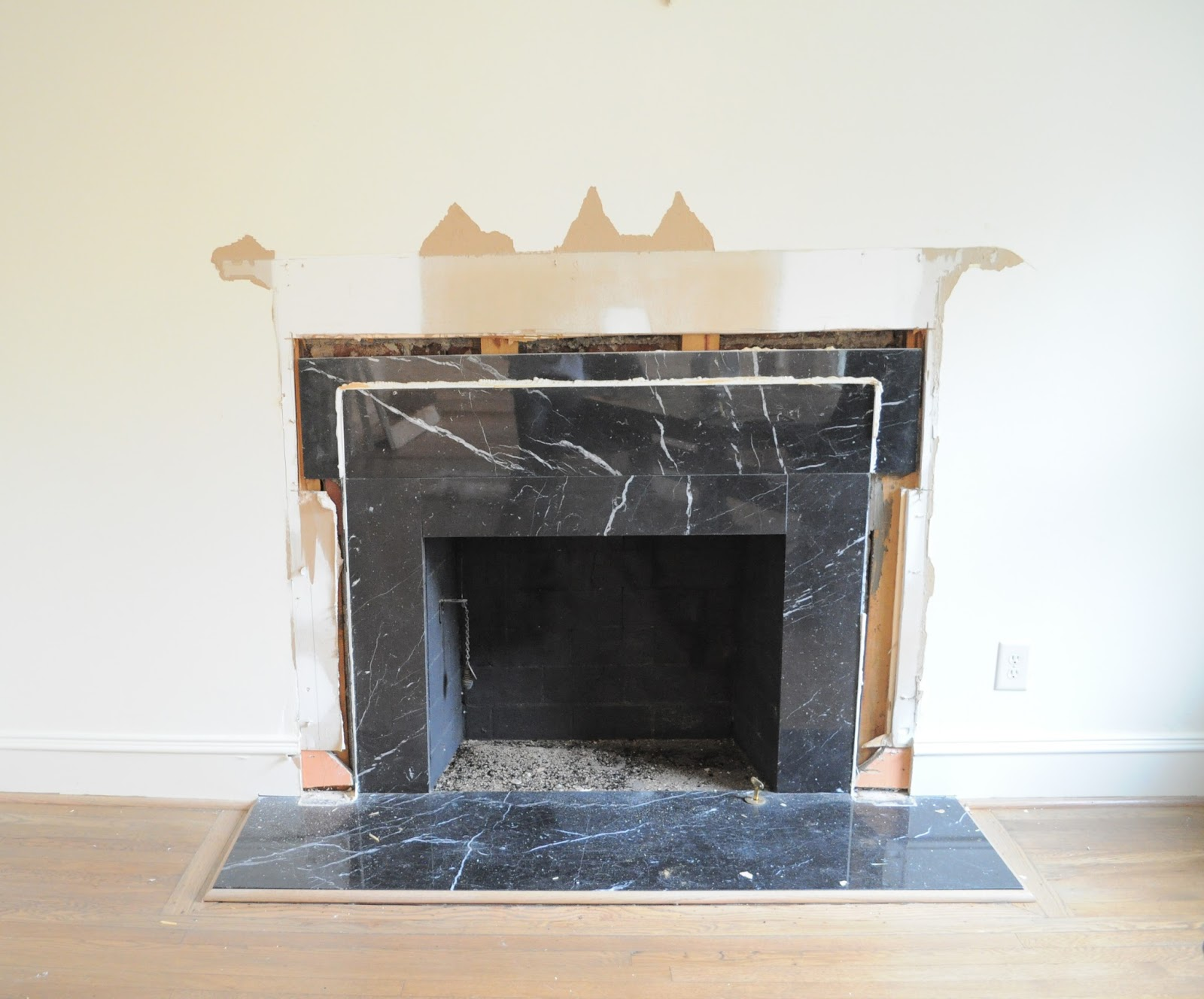 The cow spot new marble fireplace surround for Marble for fireplace surround