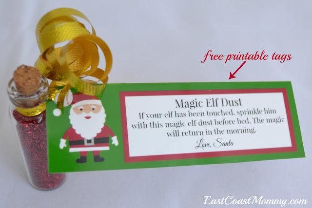 East Coast Mommy Magic Dust For Your Elf On The Shelf