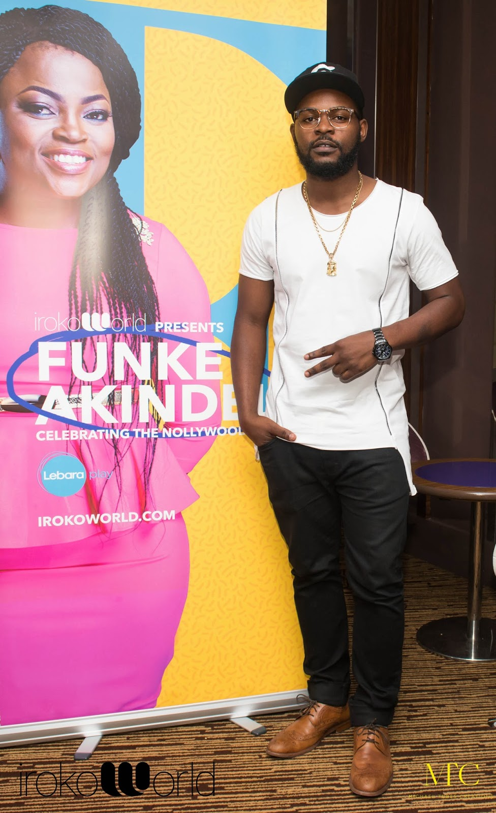 Falz The Bad Guy at An Evening with Funke Akindele