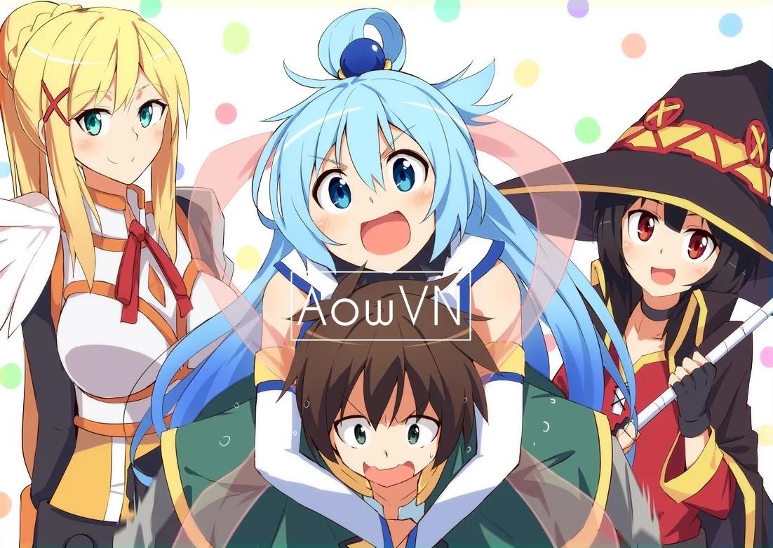 konosuba2 aowvn - [ Anime 3gp Mp4 ] Kono Subarashii Sekai ni Shukufuku wo! 2 + OVA | Vietsub - Cực hài