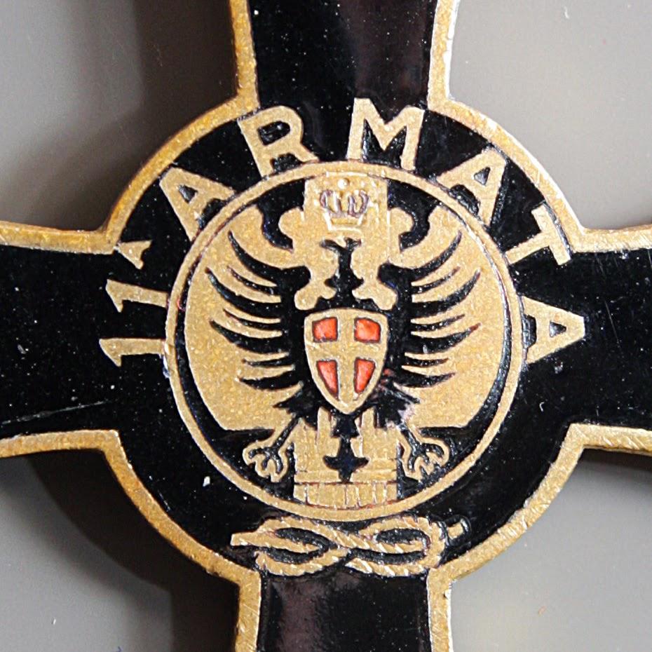 particolare croce 11 undicesima armata retro