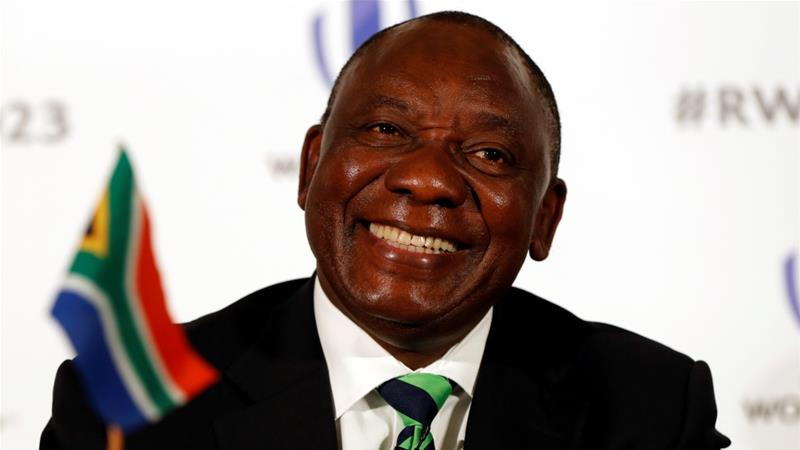 Cyril Ramaphosa Elected As South Africa's New President Following Zuma's Resignation