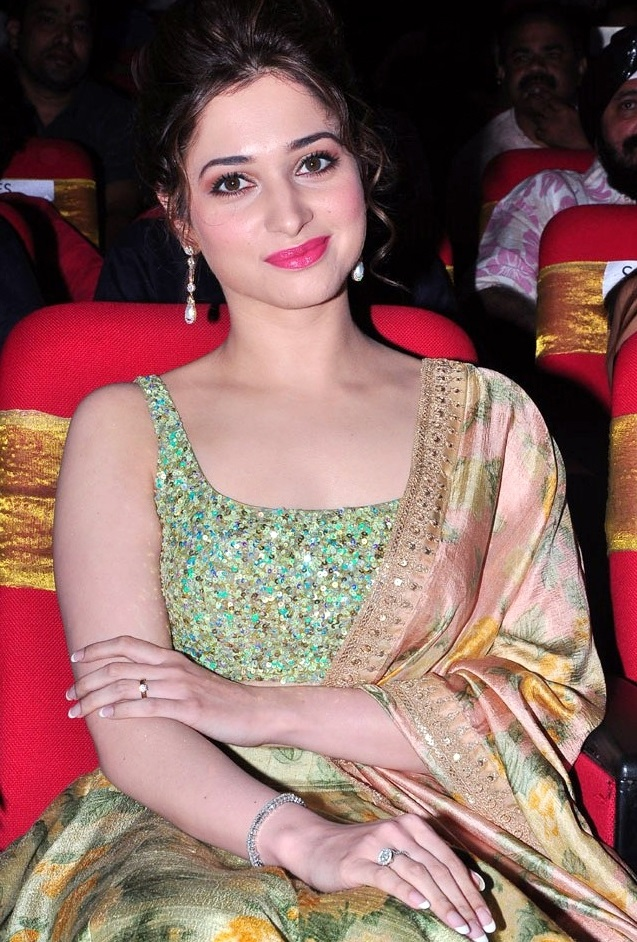 Glamours Bollywood Actress Tamannaah Beautiful Smiling Face Close Up Stills