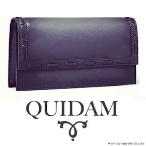Crown princess Victoria carried Quidam Clutch