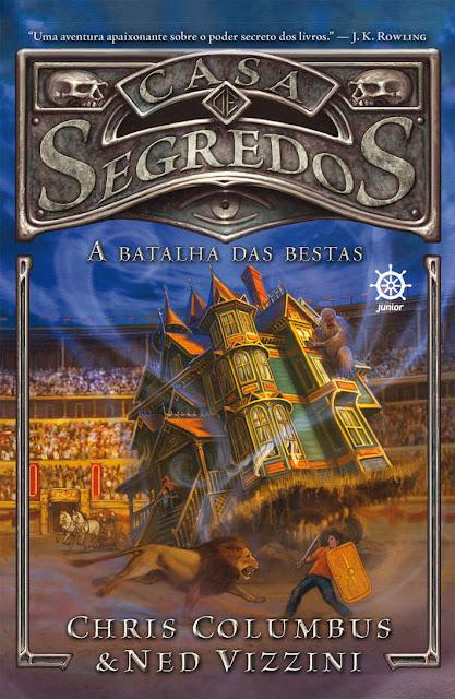 A batalha das bestas - Casa de segredos Chris Columbus, Ned Vizzini