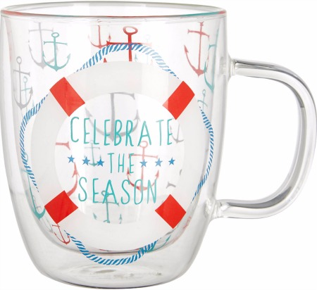 Nautical Christmas Mug
